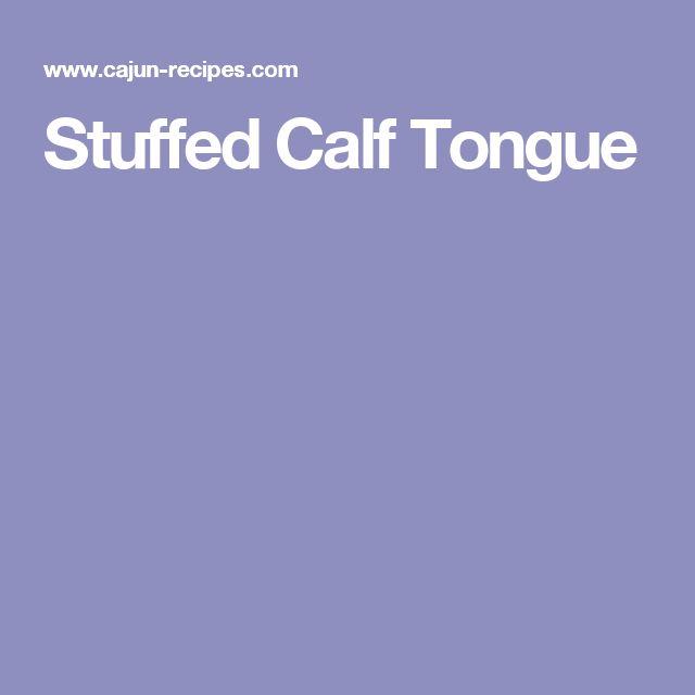 Stuffed Calf Tongue