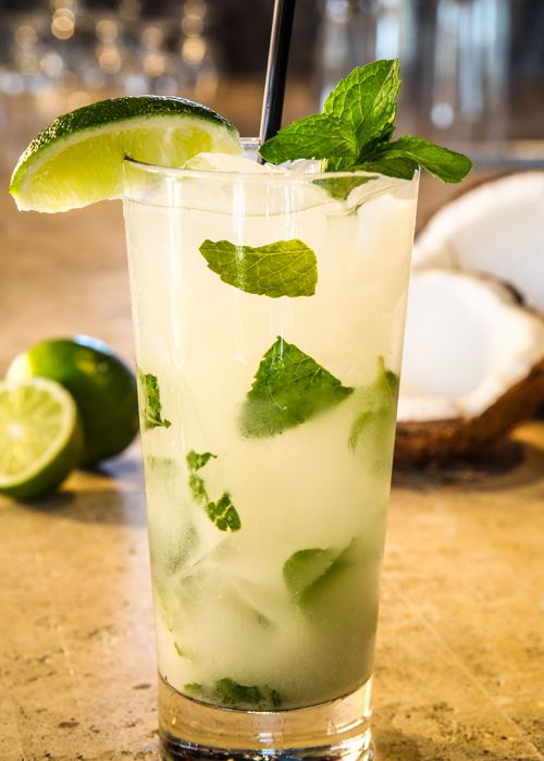 Instant and Nutritious Coconut Water Mint Juice