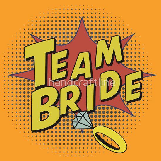 Popart Team Bride