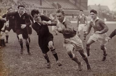 Rugby is a hooligan's game played by gentleman