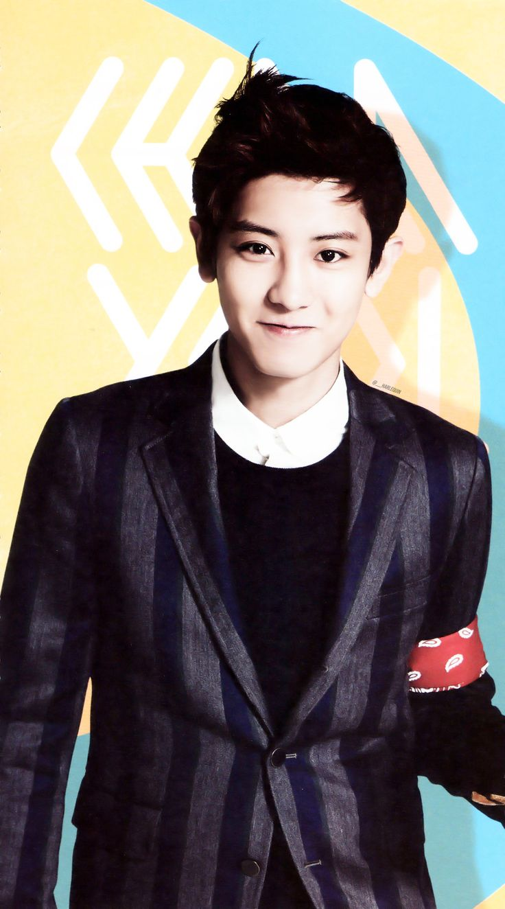 Park Chanyeol ♥ Oh looks, it's my new wallpaper ♥3♥)~