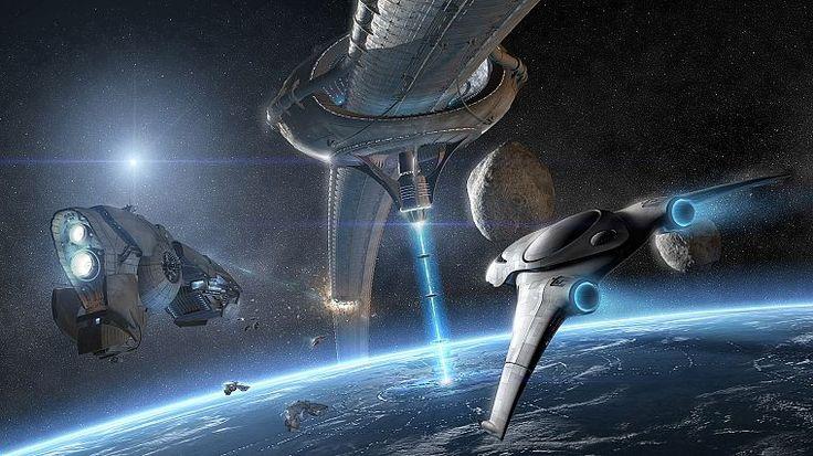 взрывы, космические корабли, космическая станция, научная фантастика, транспортные средства - обои на рабочий стол