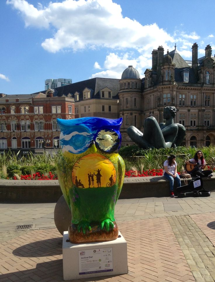 The owl trail in Birmingham 2015