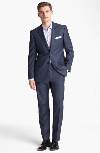 Zegna Trim Fit Wool Suit | Nordstrom