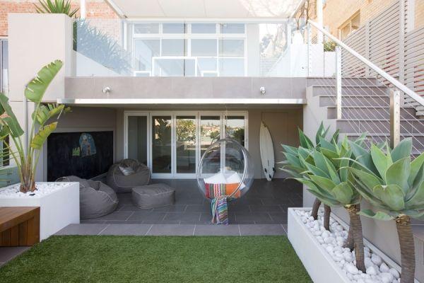 Outdoor Garten Bau Rasenfläche-Moderne Hängesessel