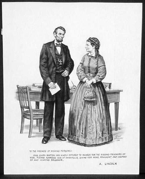 clara barton coloring pages free - photo#32