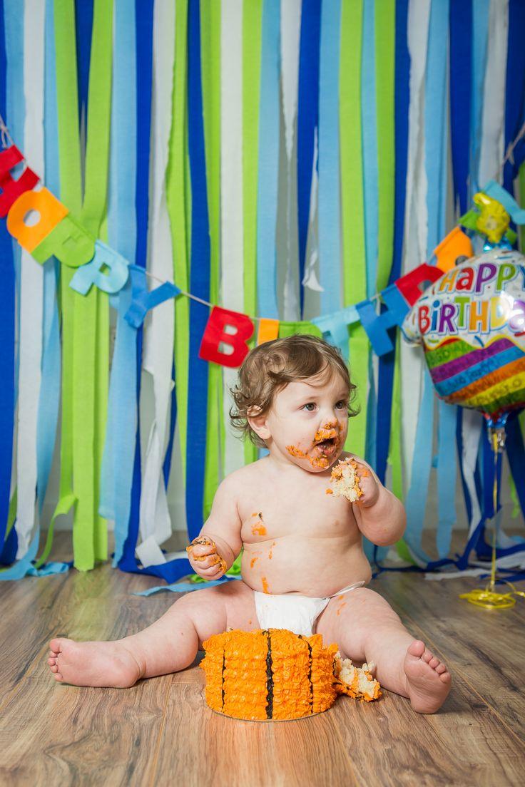 Happy Birthday David Jr! - Salem, Oregon 1st year Birthday and Cake Smash Photographer