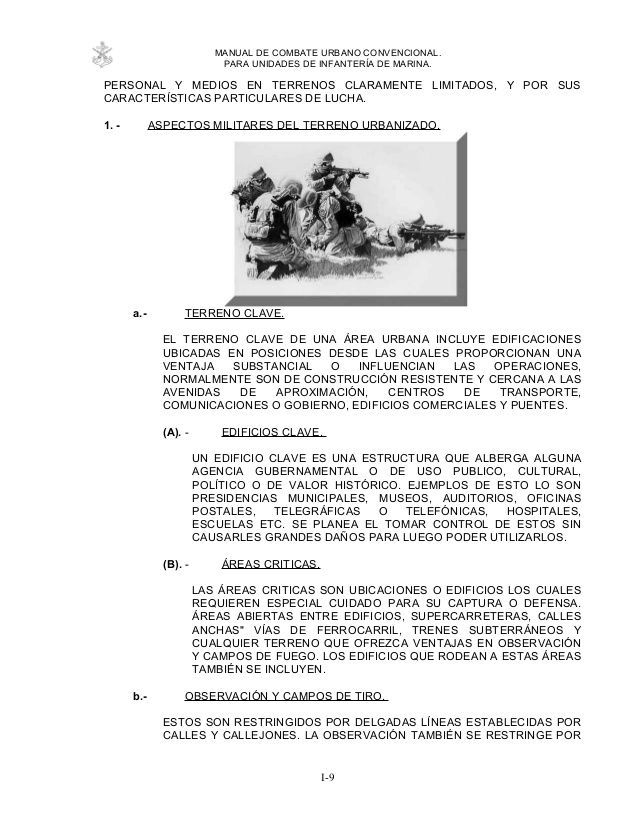 Manual De Combate Urbano Infanteria De Marina 3 In 2020 Diez