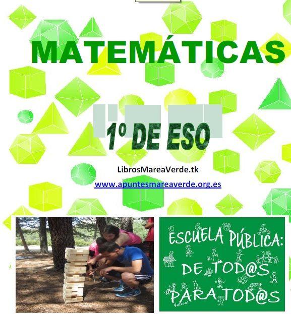 Desde la página Apuntes MareaVerde en la que un grupo de trabajo de profesores de la enseñanza pública que está elaborando materiales curriculares gratuitos Es muy interesante el capítulo 1 de ap...