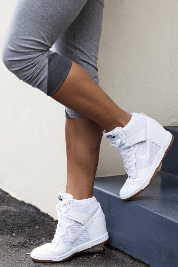 Schuhe mit Keilabsatz 80 Ideen für modernes Outfit
