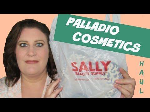 Sally Beauty Haul ~ Palladio Cosmetics Makeup ~ Products I Purchased - YouTube