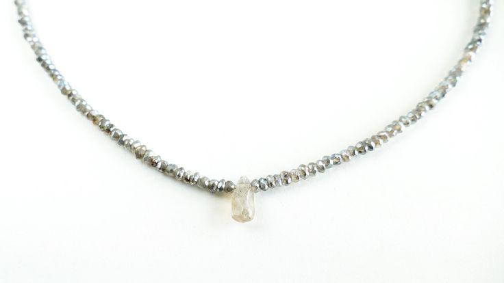 Necklace from Labradorite with one stone (drop) Labradorite -Price:54€