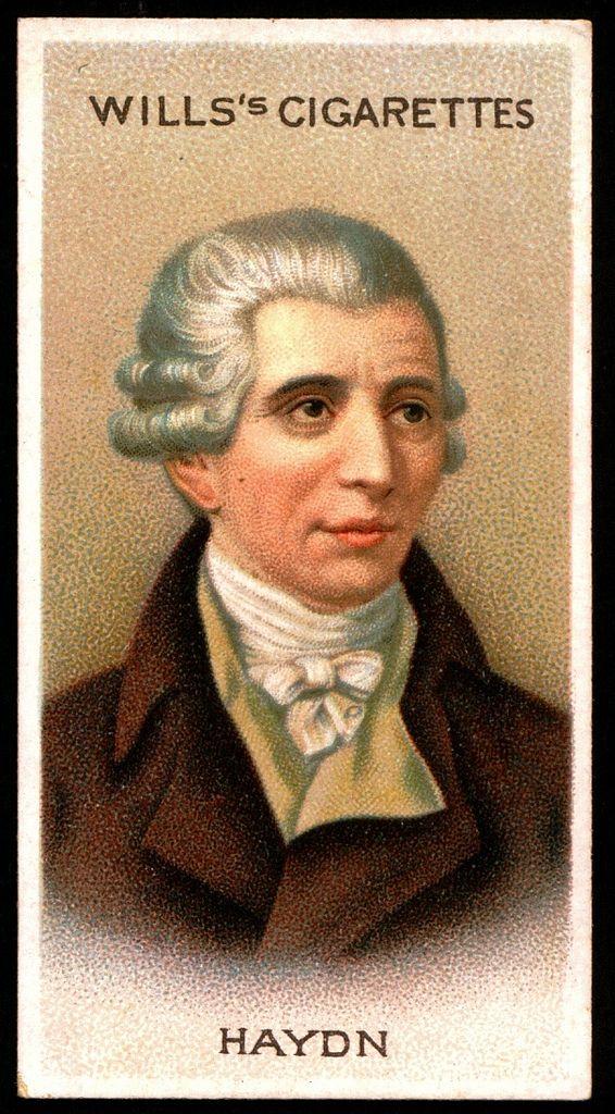 "https://flic.kr/p/8gQrNg | Cigarette Card - Joseph Haydn | Wills's Cigarettes ""Musical Celebrities A Series"" 1912. #3 Joseph Haydn 1732-1809"