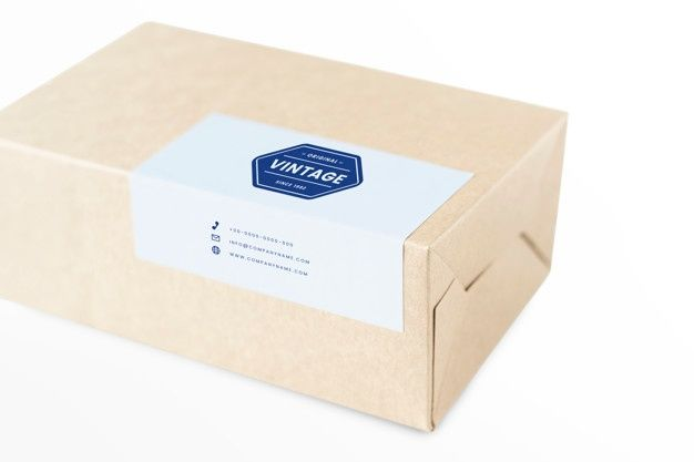 Download Download Natural Paper Box Packaging Mockup For Free Packaging Mockup Business Card Mock Up Paper Box