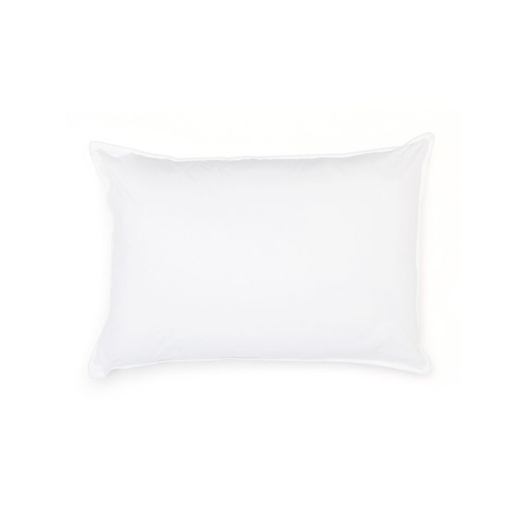 Goose Down Pillow, White