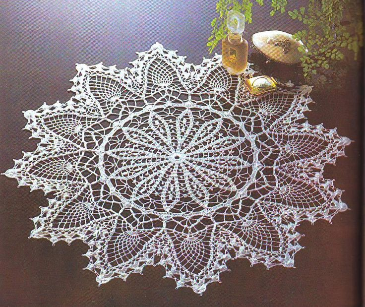 3543 Best Images About Doilies And Furniture Scarves On