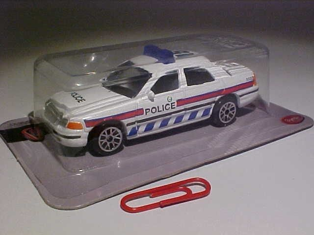 Ford Crown Victoria Police Realtoy 1/64 Diecast MOC #Realtoy #Ford