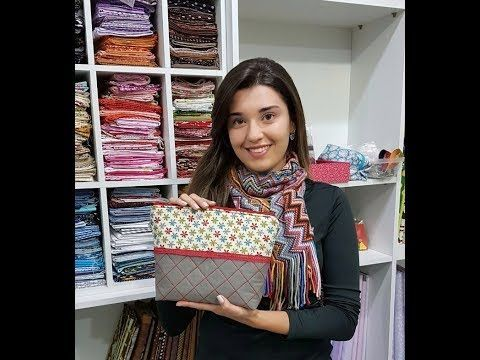Carol Vilalta - Necessaire com bolsos - YouTube
