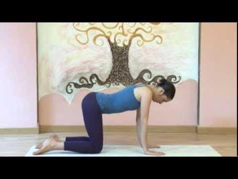 Yoga dopo il parto - Esercizi per il pavimento pelvico - YouTube