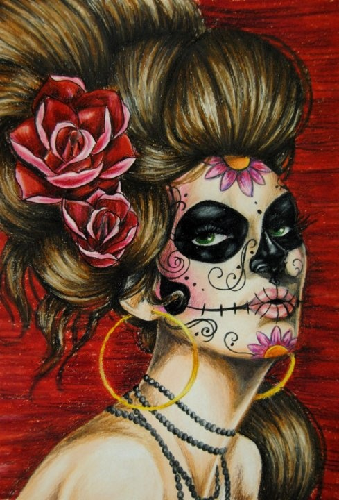 Cake And Art Santa Monica Blvd : 17 Best images about Dia de los Muertos on Pinterest ...