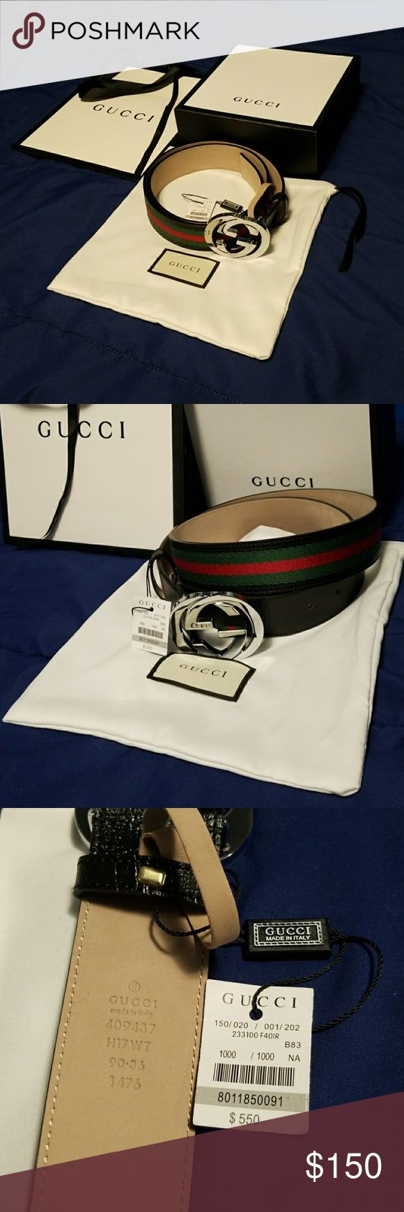 Authentic Gucci Belt Brand new Gucci Belt. 100% authentic or your money back! Reasonable offers are accepted. For any additional questions, comments, or offers please contact me at Transition.ClothingCo.com for a quick response. Gucci Accessories Belts