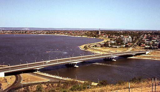 Perth Western Australia in the 1970's -Perth. Western Australia (circa 1974)