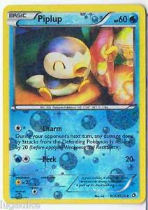 Pokemon Card Legendary Treasures uncommon Piplup RC6/RC25 FREE COMB S&H