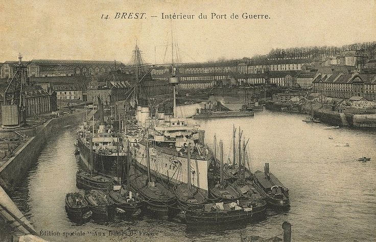 53 best brest la blanche images on pinterest bretagne - Restaurant italien brest port de commerce ...