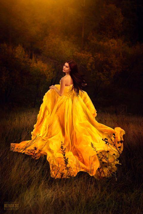 Flaming dress