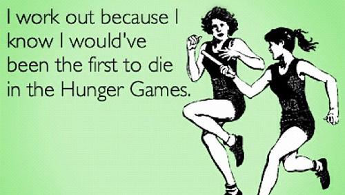 Get ready: Truth, Thought, Hungergames