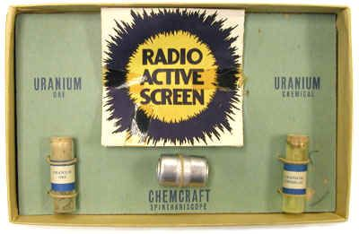 juguetes con componentes radiactivos