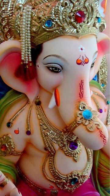 Shri Ganesh! Ganapti Bappa at home Om Gam Ganapataye Namaha