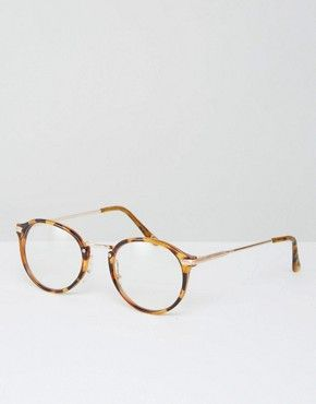 Jeepers Peepers Round Clear Lens Glasses
