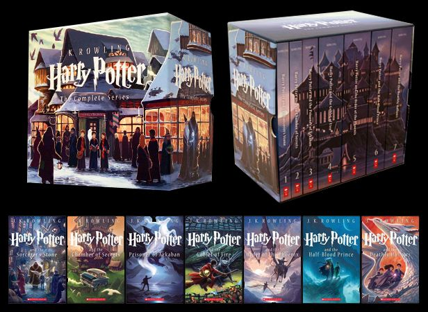 I got these for Christmas! Love them! New collector's edition Harry Potter books from Scholastic