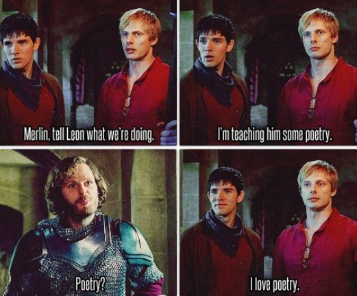 ah merlin...  Best magician of all time, worst liar, EVER!!