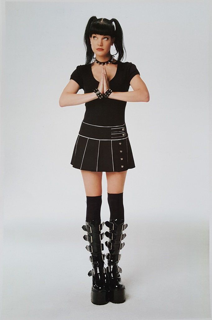NCIS Pauley Perrette as Abby Sciuto Goth Praying 11 x 17 Poster Lithograph at Amazon's Entertainment Collectibles Store   @giftryapp