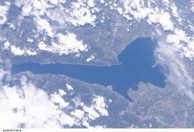 "Lake Garda - Lombardia, Trentino, Veneto    Image Science and Analysis Laboratory, NASA-Johnson Space Center. ""The Gateway to Astronaut Photography of Earth."""