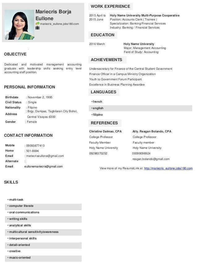 Jobs180 Link Resume Sample Jobs180 Sample Resume Link