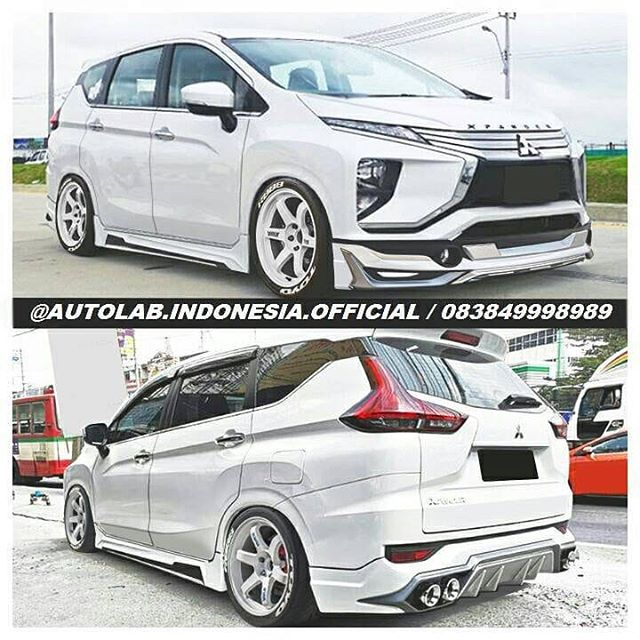 Stancenation Indonesia Xpander Bodykit Plastic Available Autolab Indonesia Official Autolab Indonesi Mitsubishi Pajero Sport Stanced Cars Mercedes Benz Cars