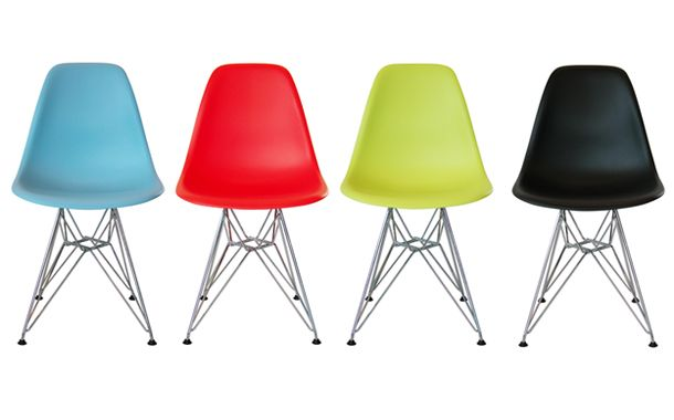 Eams shell side chair DSR