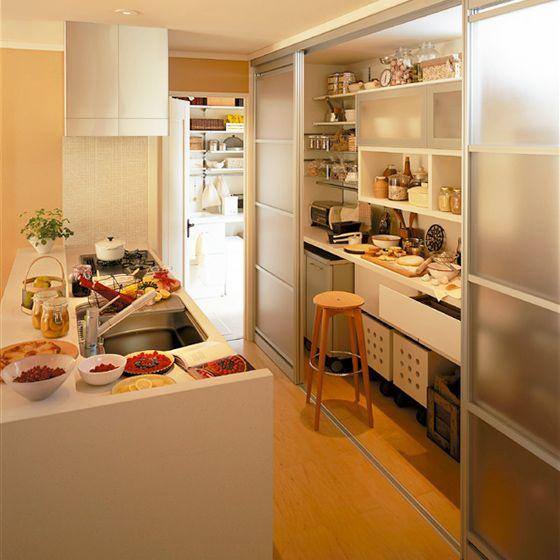 キッチンの収納                                                                                                                                                                                 もっと見る