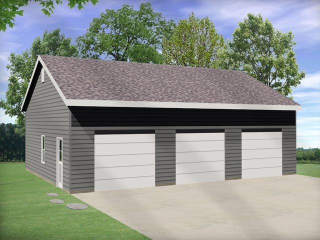 17 best images about car lift or auto lift garage plans on for Garage plans with storage