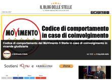 Sul blog di Grillo al voto il documento sulla gestione degli avvisi di garanzia: nessuna sanzione automatica, ma ampia discrezionalità a Beppe Grillo e ai probiviri. Ma la base rumoreggia: State mettendo le mani avanti?