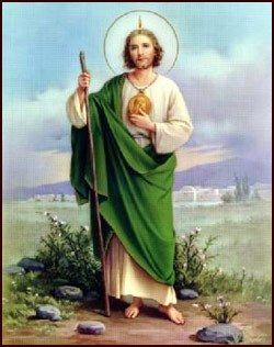 Patron Saint Of Lost Causes | ST. JUDE THADDEUS Patron Saint of Lost Causes and Desperate Cases