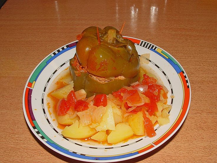 Gefüllte Paprika aus dem Schnellkochtopf, ein tolles Rezept aus der Kategorie Gemüse. Bewertungen: 21. Durchschnitt: Ø 3,9.
