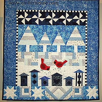 20 best Winter theme quilts images on Pinterest | Bird patterns ... : theme quilts - Adamdwight.com