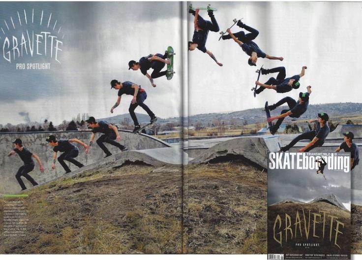 David Gravette - Transworld Skateboarding 2012