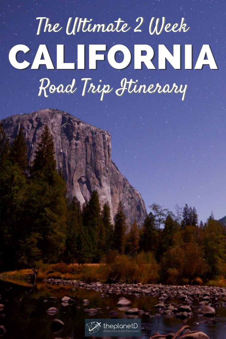 The Ultimate California Road Trip