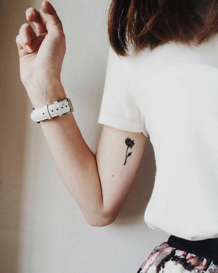 Tatuajes En El Brazo Pequeños Para Mujeres Tatuajes Femeninos Con