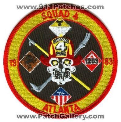 Atlanta Fire Department Squad 4